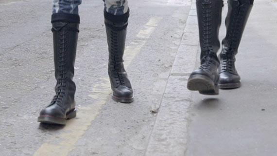 Solovair Boots at Regulation