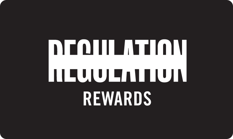 REGULATION Rewards Card